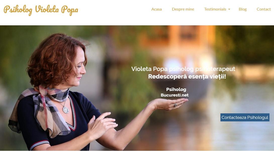 Cabinet de psihologie Violeta Popa – Bucuresti